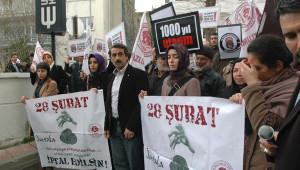 28 Şubat Protestosunda İlginç Tesadüf