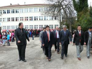İl Milli Eğitim Müdürü Aksoy Çatalzeytin'de İncelemelerde Bulundu
