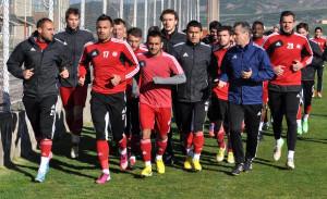Sivasspor, İstanbul Belediye Maçı Hazırlıklarına Başladı