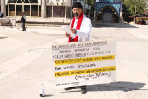 Kılıçdaroğlu'na Çözüm Süreci Protestosu