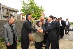 Milletvekili Tayyar ve Başkan Fadıloğlu Köyleri Ziyaret Etti