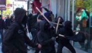 Mecidiyeköy'ü Anarşistler Bastı
