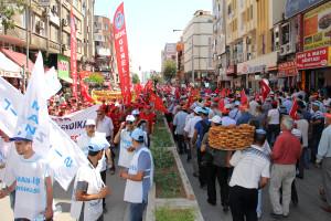 Mersinliler 1 Mayıs'ı Selda Bağcan ile Kutladı