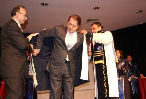 Çomü'den Ahmet Özhan'a Fahri Doktora