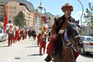 Kanuni Sultan Süleyman Gümüşhane'de Anıldı