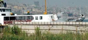 Yolcu Teknesi ile Şehir Hatları Vapuru Çarpıştı (3)