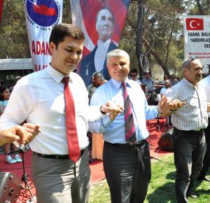 MHP'li Yılmaz İlçe Gezilerinde
