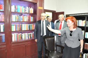 Evliya Çelebi Edebiyat Müze Kütüphanesi Açıldı