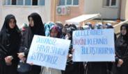 Duman Grubuna Tekbirli Protesto!