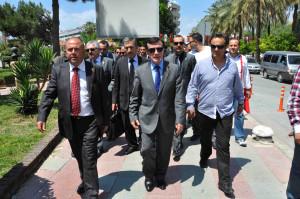 Hepar Genel Başkanı Pamukoğlu Kuşadası'nda