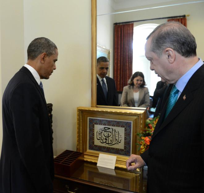 Beyaz Saray'dan İlk Fotoğraflar