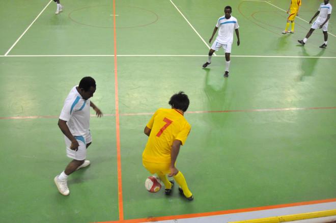 Dünya Gençliği Futbol Turnuvasında Dostluk Rüzgarı