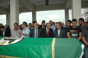 Çeçenistan Türkiye Fahri Konsolosu Ünlü İçin Kocatepe Camii'nde Cenaze Namazı
