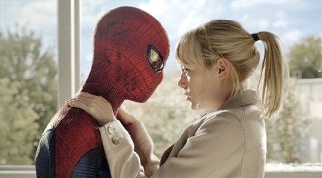 Örümcek Adam Setinde Aşk
