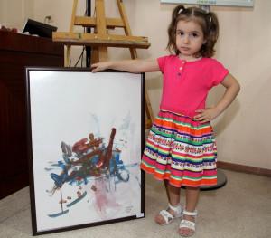Ressam Çocuklardan Armağan