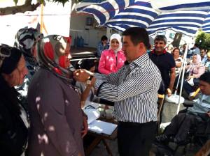 AK Parti'de Vekiller Asillere Rozet Taktı