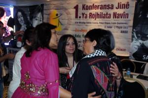 Diyarbakır'daki Kadın Konferansı'nda Leyla'lar Arasında 'İsrail' Gerginliği