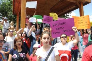 Avanos'ta Taksım Gezı Parkındakı Eyleme Destek