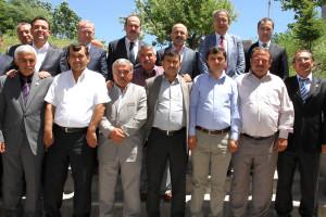 Ziraat Odası'ndan AK Parti Milletvekilleri ve Belediye Başkanı Ünver'e Teşekkür Plaketi