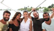 Ünlüler Adriana Lima İle Birlikte!