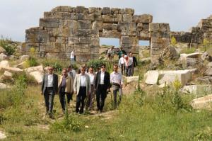 Vali Yılmaz, Aizanoi Antik Kenti'ne Hayran Kaldı