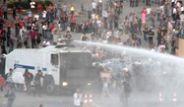 Polis Taksim'deki Anma Törenine Müdahale Etti
