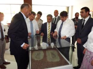Milletvekilleri, Jeopark Ziyaretçi Merkezini Gezdi