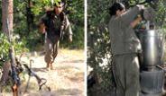 İşte Çekilen PKK'lıların Toplandığı Kamp