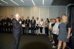 THY Genel Müdürü Kotil Ödülü Çalışanlarla Paylaştı
