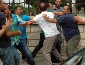 MHP'liler Gıyabi Cenaze Namazı Kıldı