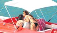 Teknede Aşk Tazelediler!
