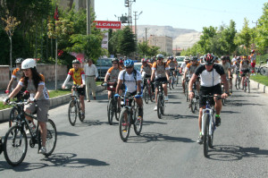 Kapadokya Bisiklet Festivali Başladı
