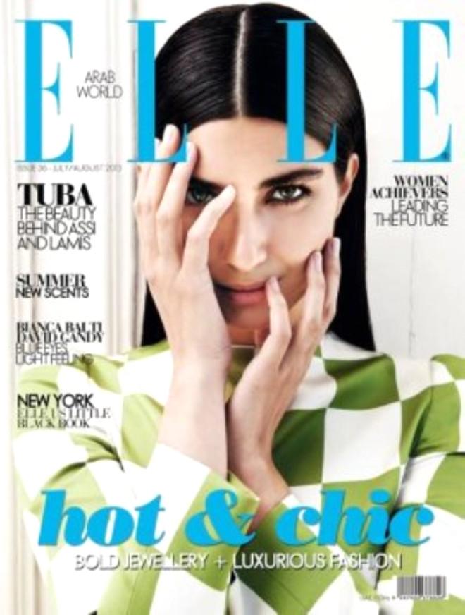 Elle Arabia Dergisine Kapak Oldu!