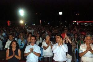Kepez'deki Şenlikte Gezi'ye Destek