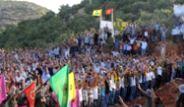 Lice'de PKK'lı Mezarlığı Açtılar