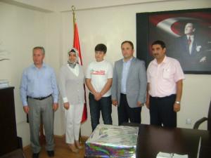 Sbs Birincisi Mustafa Yılmaz'ın Ziyaretleri