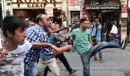 BDP Eyleminde Kasımpaşaspor Taraftar Gerginliği