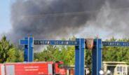 Genereal Salahhattin Gökkartal Kışlası'nda Yangın