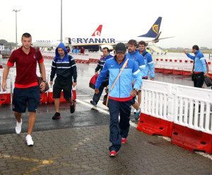 Trabzonspor İrlanda'ya Geldi