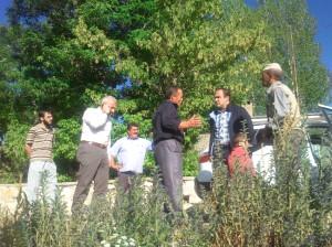 Milletvekili Özbek, Köylerde İncelemelerde Bulundu