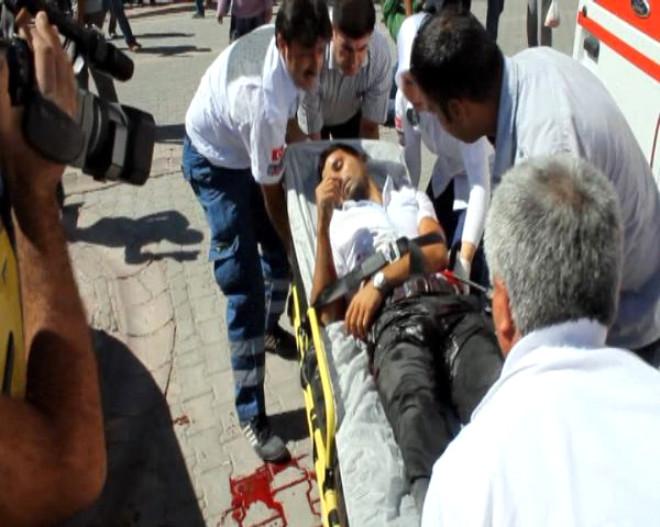 Malatya'da Adliye Önünde Çatışma!