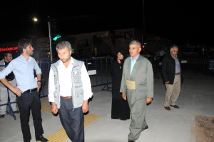 Şırnak'ta Şerafettin Elçi Havalimanı Beyaz Güvercinler Uçurularak Açıldı(3)