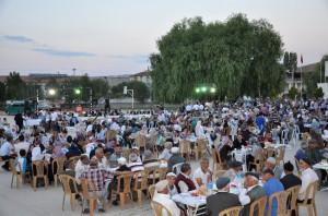 Kırıkkale Valisi Ali Kolat Sulakyurt İlçesinde İftar Yemeğine Katıldı