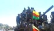 PYD Hurda Tanklar İle Gövde Gösterisi Yaptı