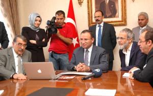 Başbakan Yardımcısı Bozdağ, Yusuf İslam'la Görüştü