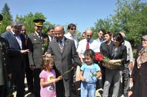 Kırıkkale'de Bayram Öncesi Şehitlik Ziyareti