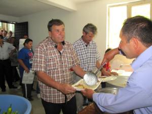 Emet'in Kırgıl Köyü'nde 1300 Kişiye 'Hayır Yemeği