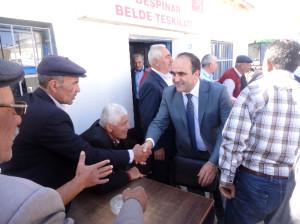 Özbek Demizözü'nde Bayramlaşma Törenine Katıldı
