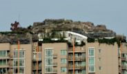 Çin'de Apartmanın Çatısına Dağ Görünümlü Villa Yaptı