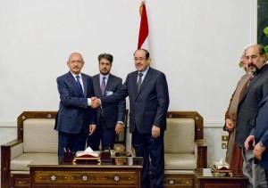 Kılıçdaroğlu, Irak Başbakanı Maliki ile Görüştü